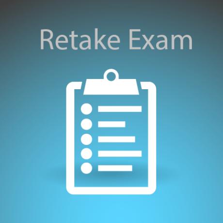 retake exam