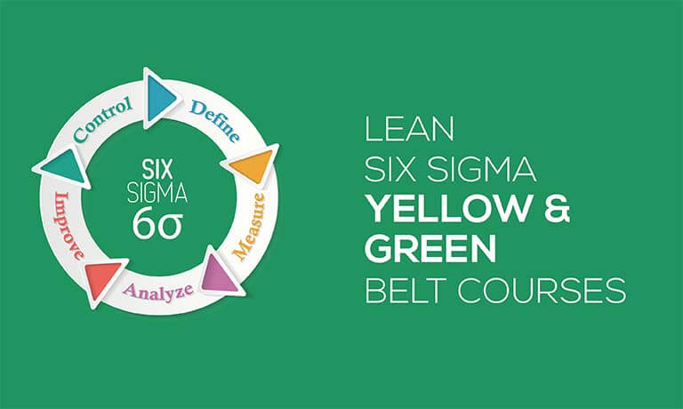 Iassc Lean Six Sigma Yellow Green Belt Courses Bundle Study 365