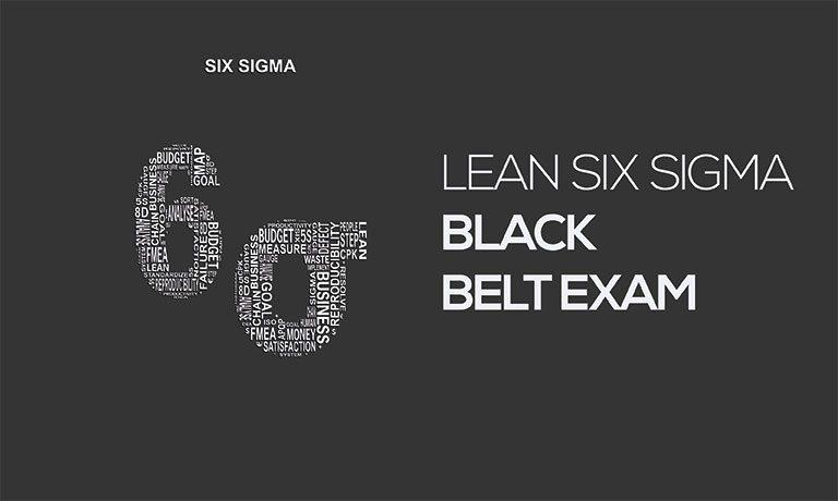 Lean Six Sigma Black Belt Exam Study 365
