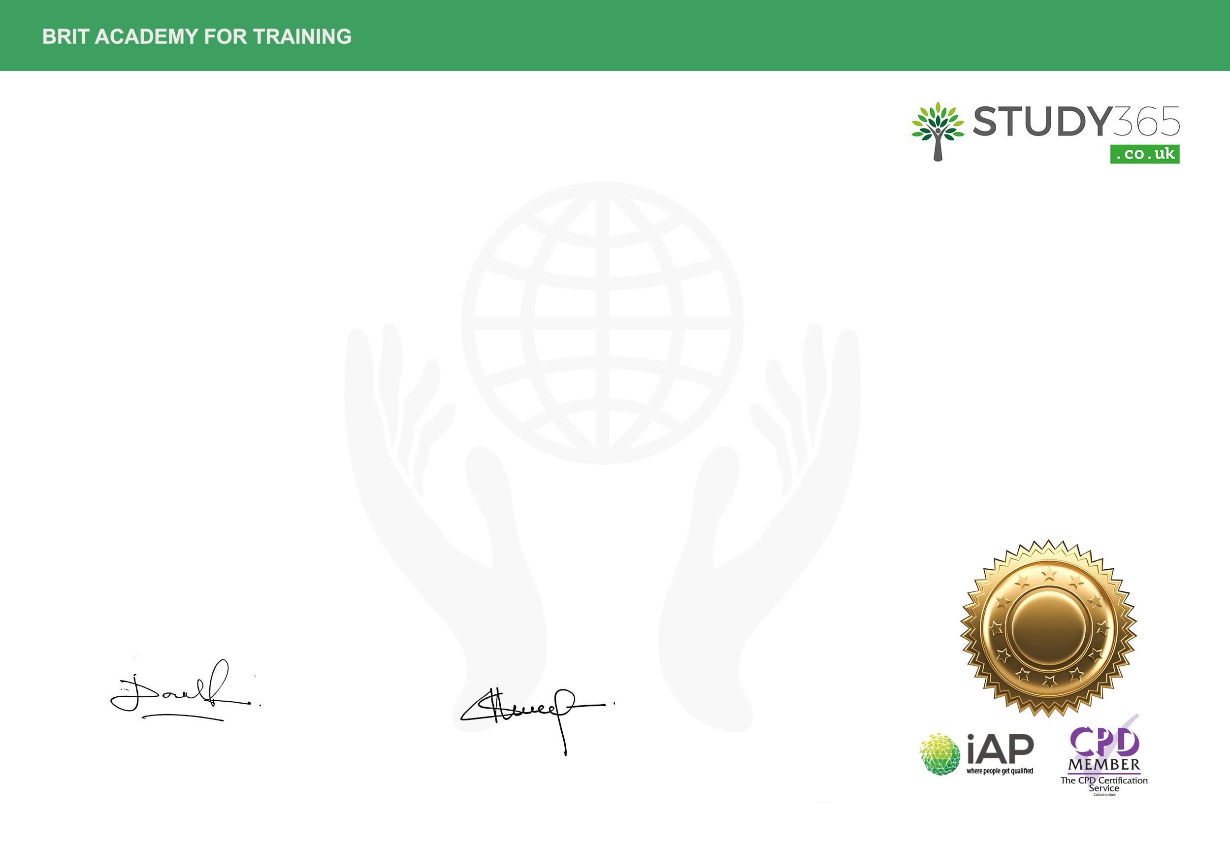 Certificate In Legal Secretary Study 365