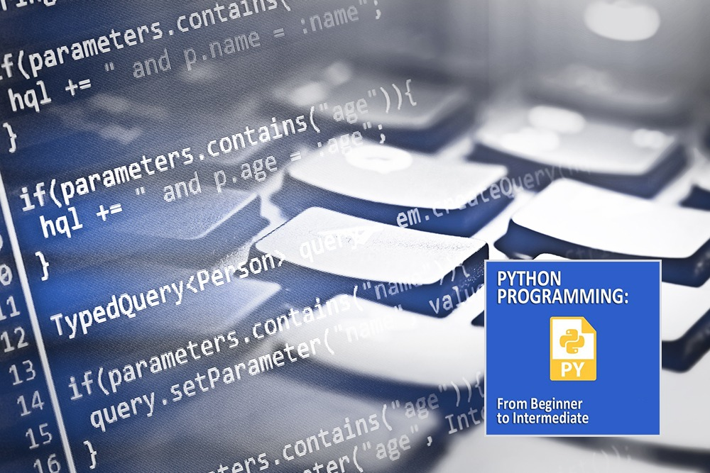 Python Programming Beginner to Intermediate Course Online